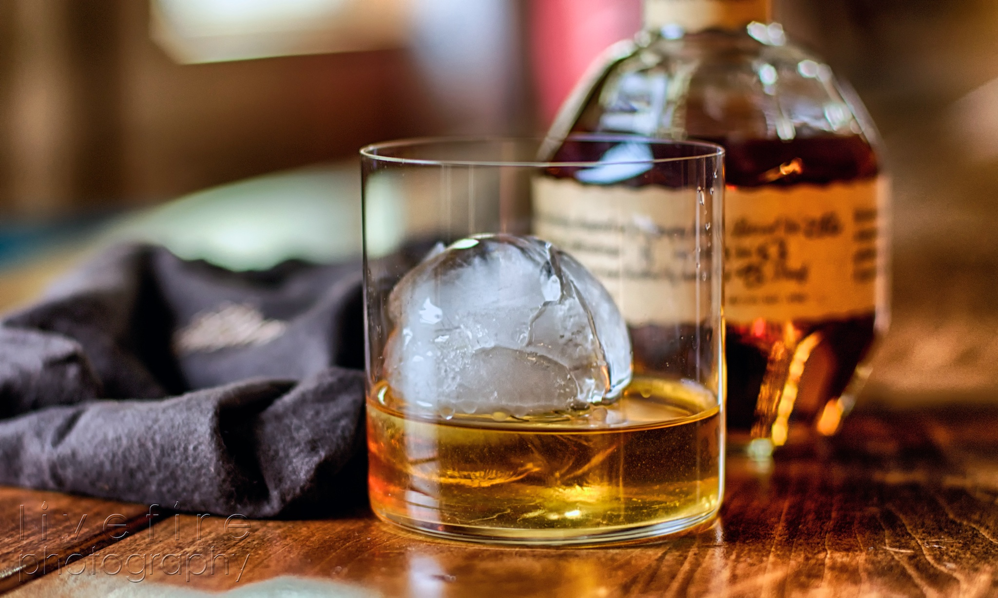 Livefire Whisky: Blanton's Bourbon