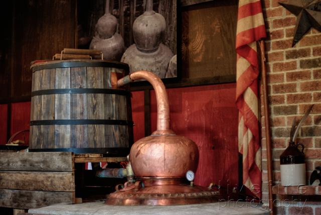 distilling area