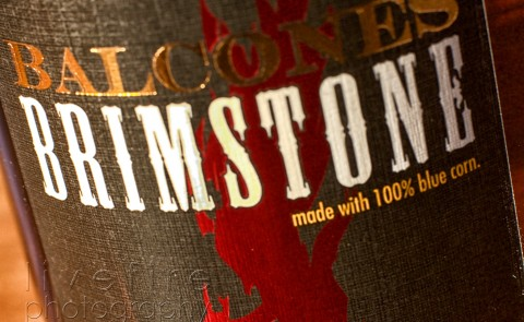 Balscones Brimstone Whiskey Label